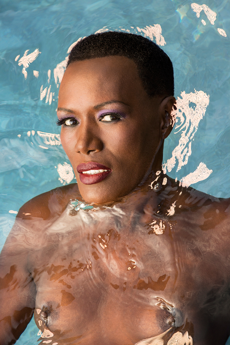 Grace Jones water